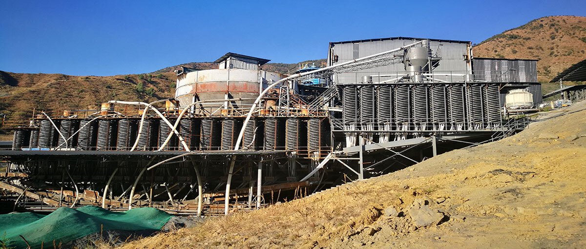 GOLD CIL BENEFICIATION PLANT