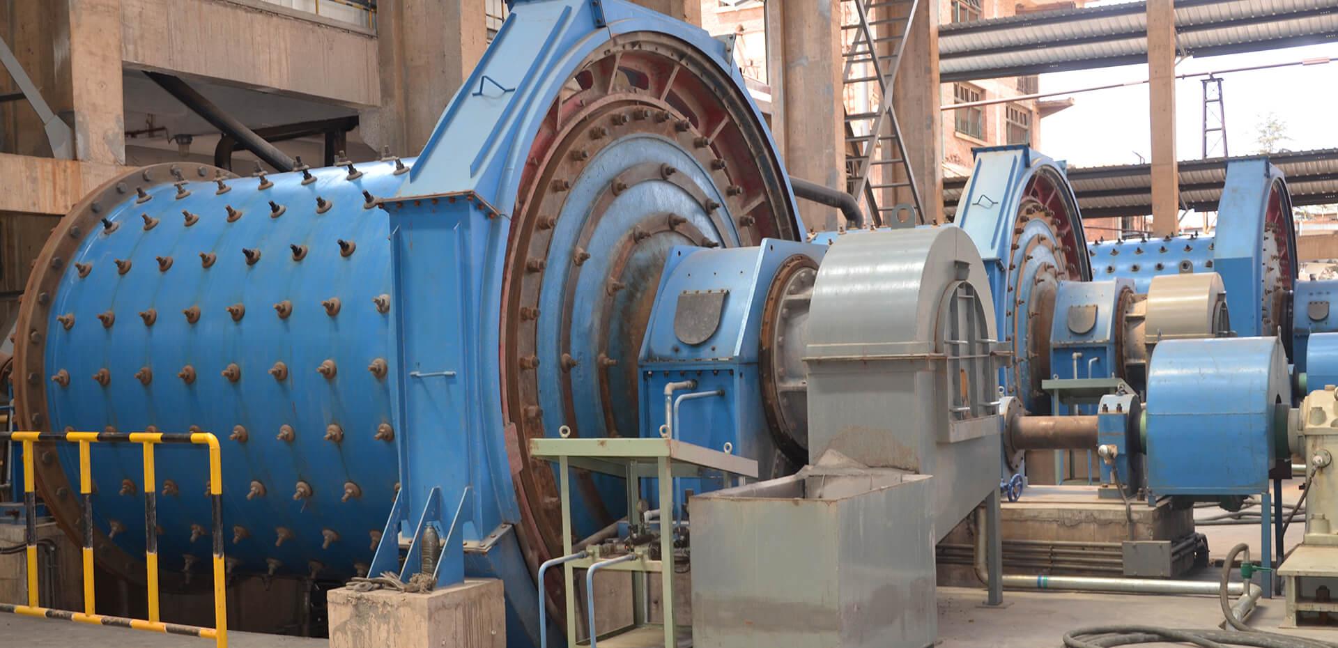 4 Mineral Mill series