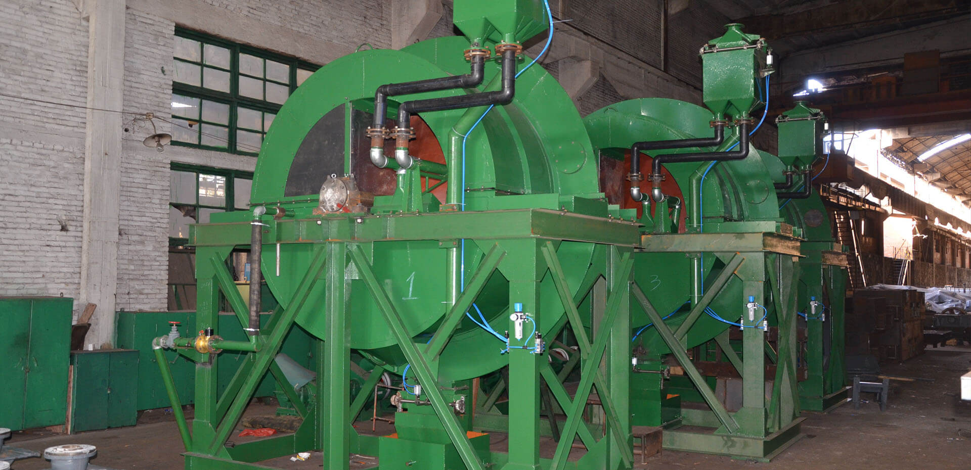 Swirling Centrifugal Concentrtor for Tin wolfaramite and Tungsten